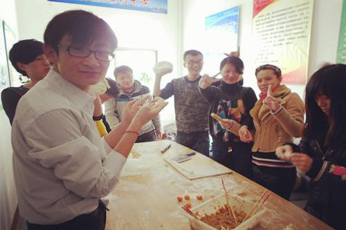 2013年元旦·包饺子
