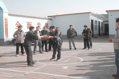 2014学员篮球活动