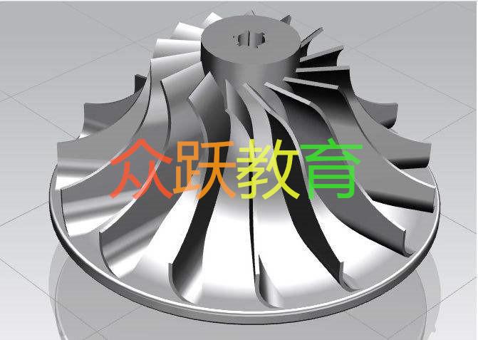UG设计作品——叶轮