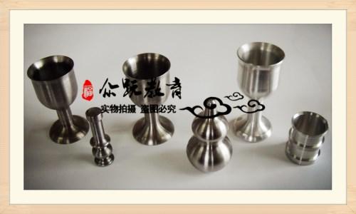 生产车间作品——酒杯、葫芦(数控车床毕业作品)